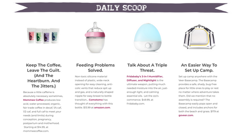 Stroller Traffic Daily Scoop Mommee Coffee