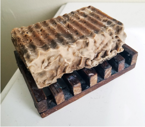 DIY Soap Made from Coffee
