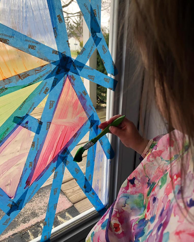 Painters Tape Projects for Kids