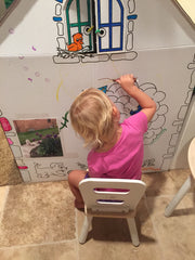 Art Project Coloring Playhouse