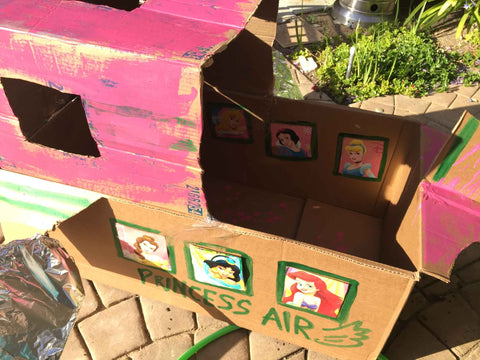 DIY Cardboard Box Project for Kids - Kids Activities
