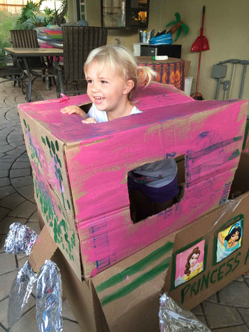 DIY Cardboard Box Projects for Kids Success