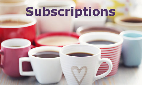 Monthly Coffee Subscriptions