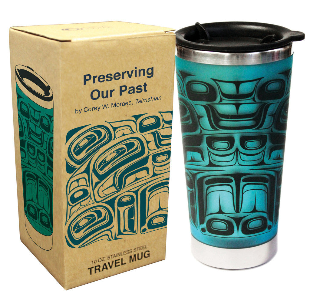 Travel Mug - Preserving the Past by Corey W. Moraes 10 oz.