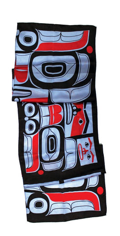 Silk Scarf - R Cranmer, Chilkat Bear