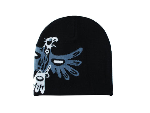 Beanie- B. Helin, Eagle, Gray or Red
