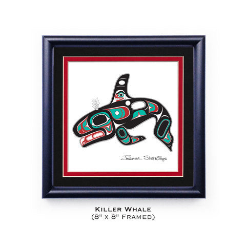 Giclee Art Print- Shotridge, Killerwhale, Limited Edition, Handsigned, Various Sizes