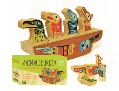 Game- Animal Journey Learn the Shapes