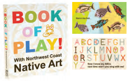 "Board Book - Native Northwest, ""Book of Play"""