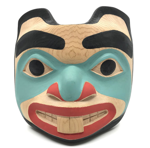 Mask- R. Gregory-Walker: Beaver, Red Cedar
