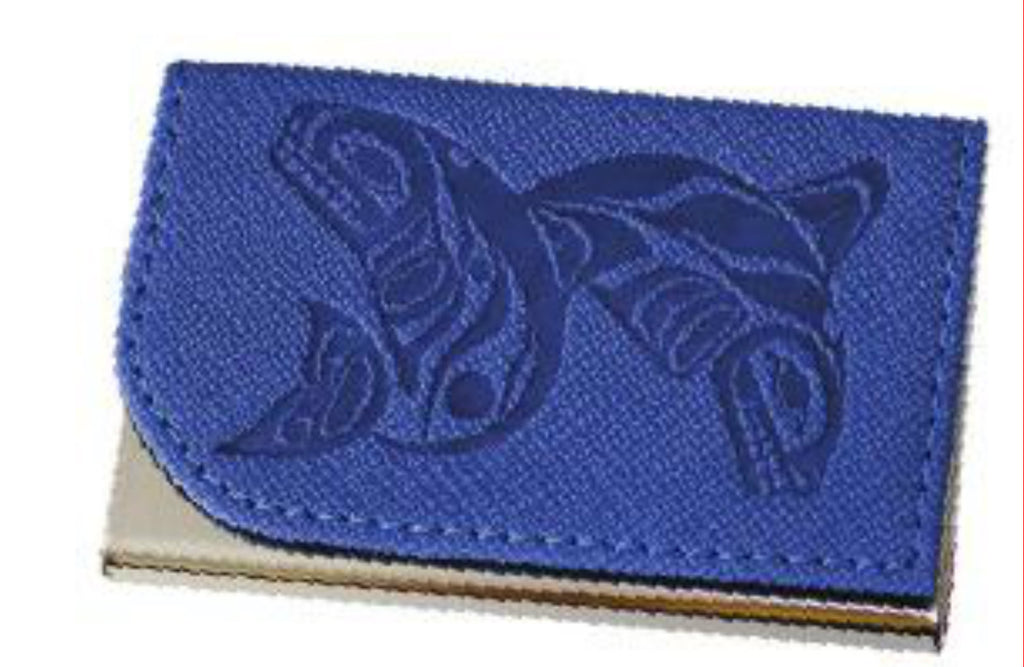 Card Holder - Paul Windsor; Whales