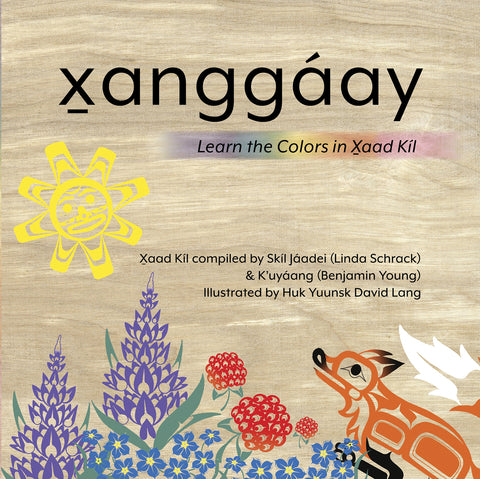 "Baby Raven Reads- ""X̱anggáay: Learn the Colors in X̱aad Kíl"""