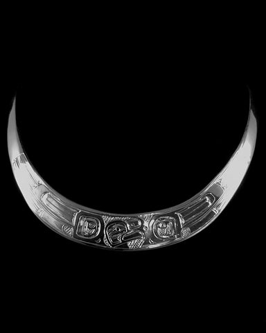 Neck Ring- D. Chilton, Silver, Eagle