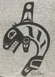 Apparel- T-Shirt Killer Whale Various Color by D. Chilton