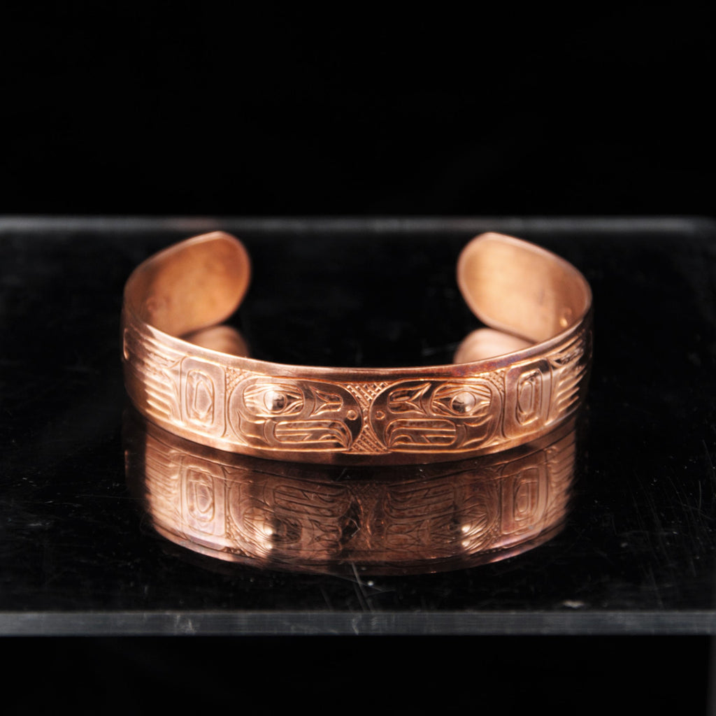Bracelet - Copper Eagle by Brian Chilton - 1/2""