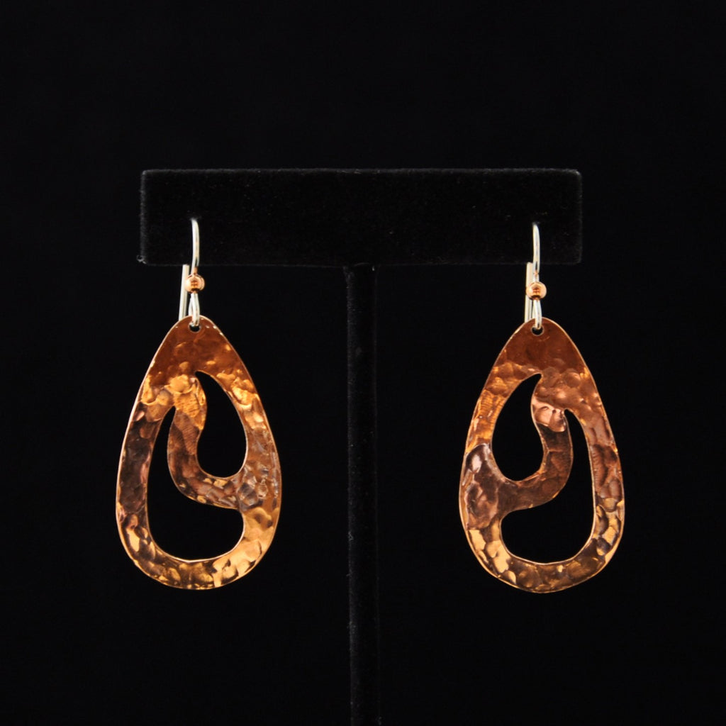 Earrings - Copper Rain - Naakée Designs