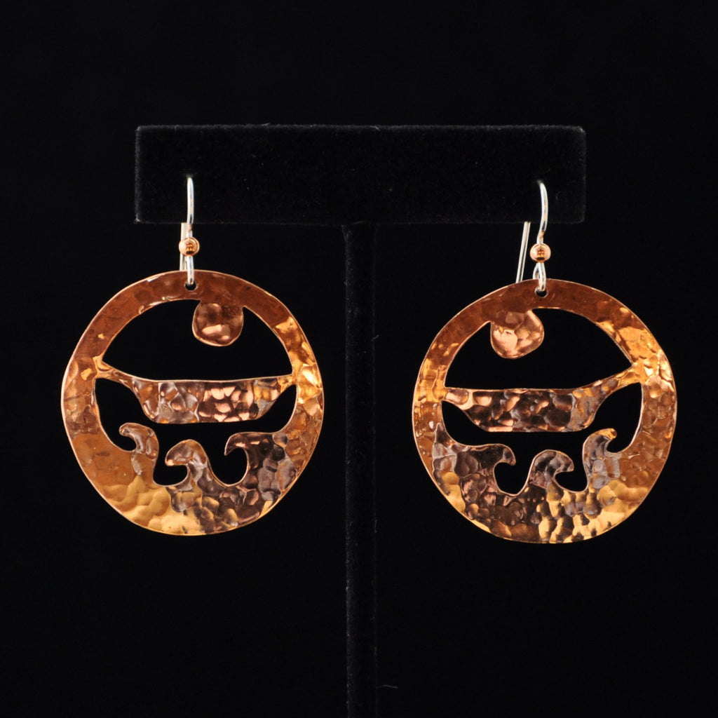 Earrings - Copper