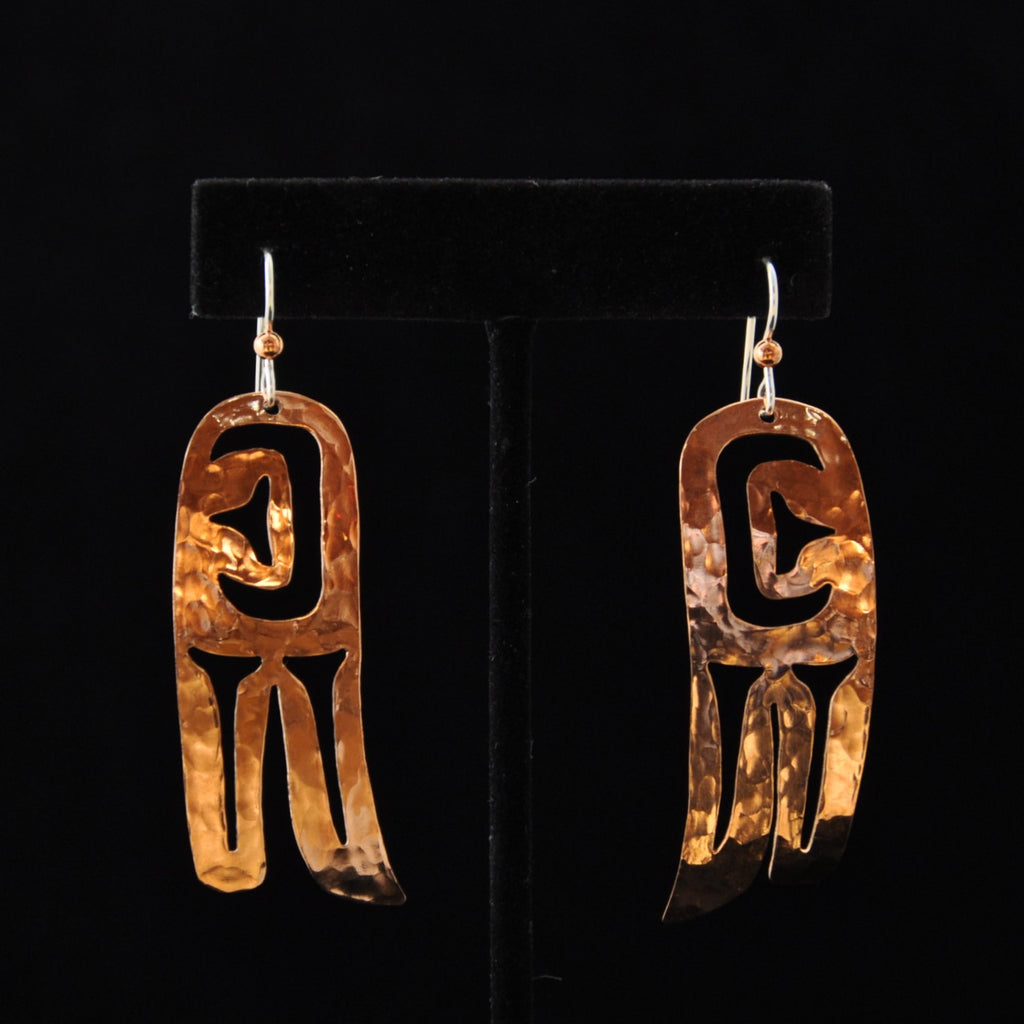 Earrings - Copper Wings - Naakée Designs,