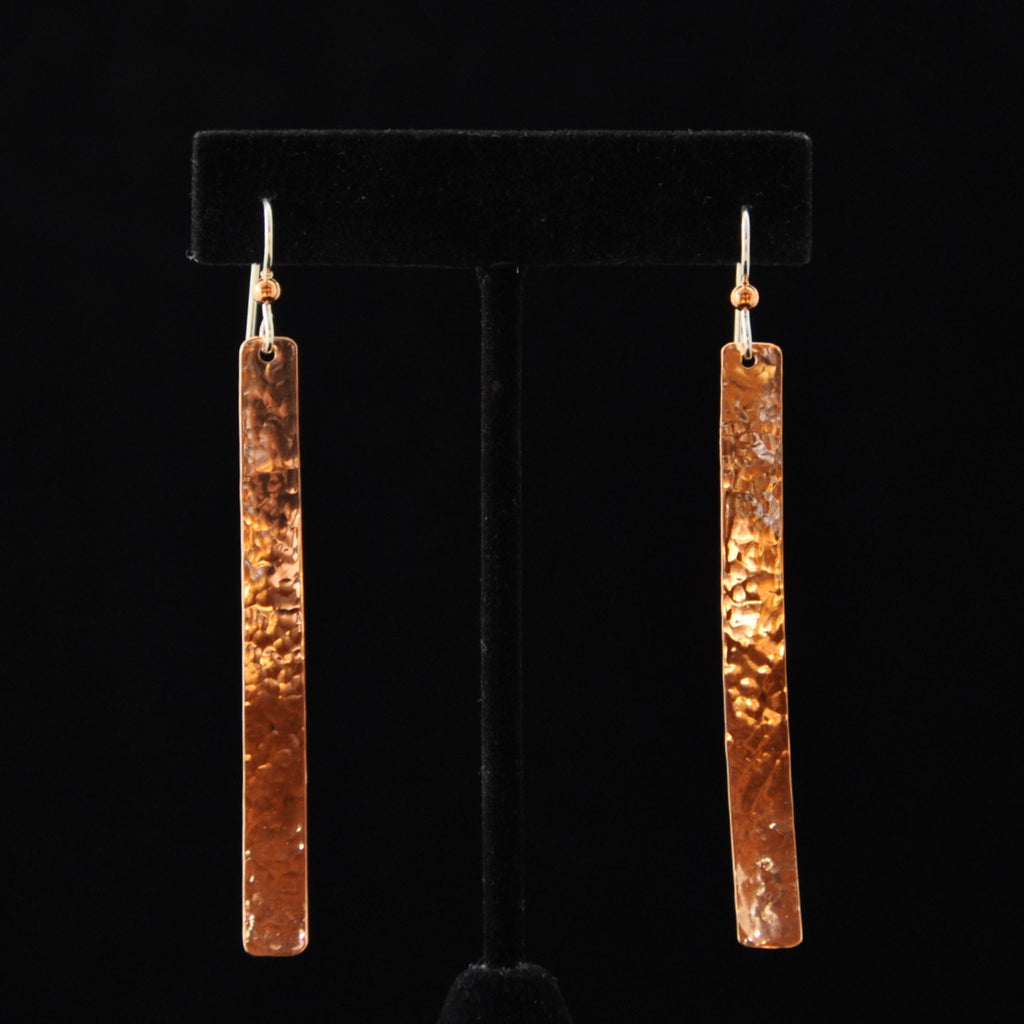 Earrings - Copper Medium Longs 1/4