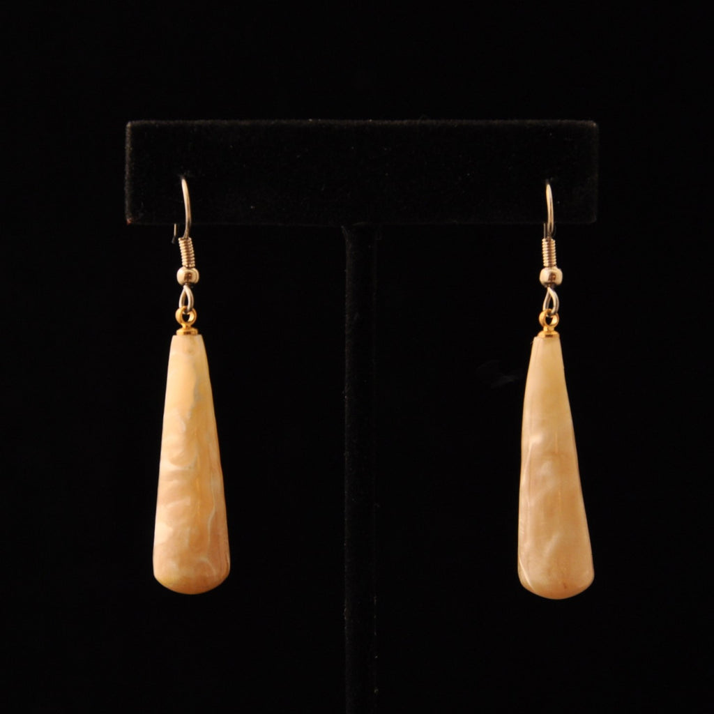 Large Horn Earrings