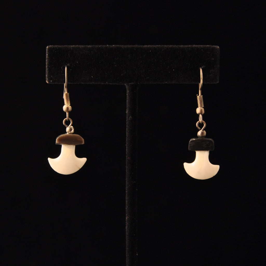 Ivory Ulu Earrings w/ Baleen