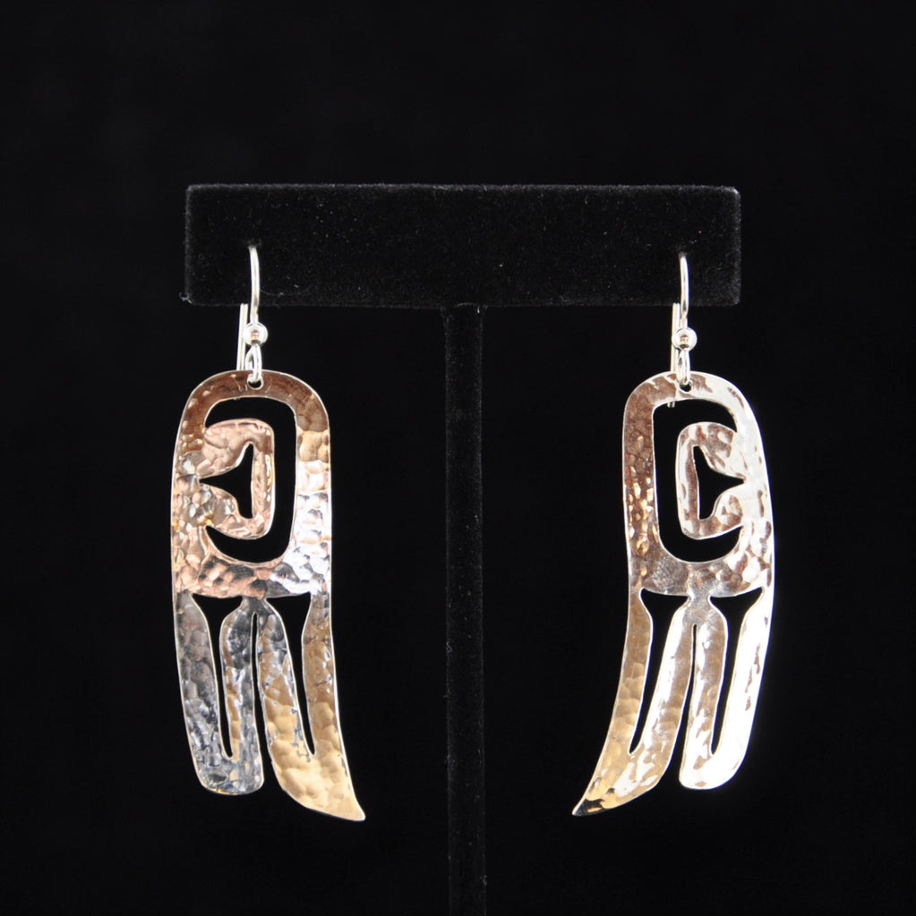 Silver Wing Earrings - Naakée Designs