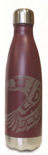 Insulated Bottle - Eagle by Ben Houstie 16 oz.
