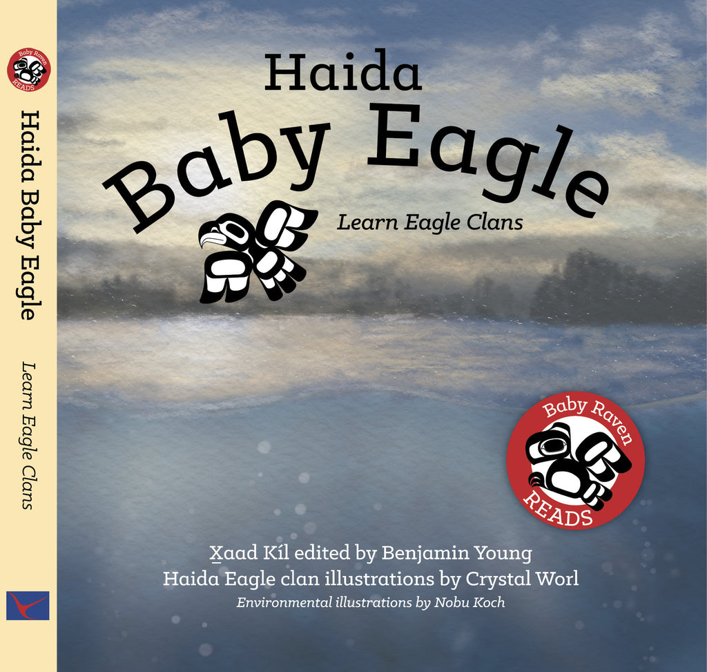 Baby Raven Reads: Haida Baby Eagle