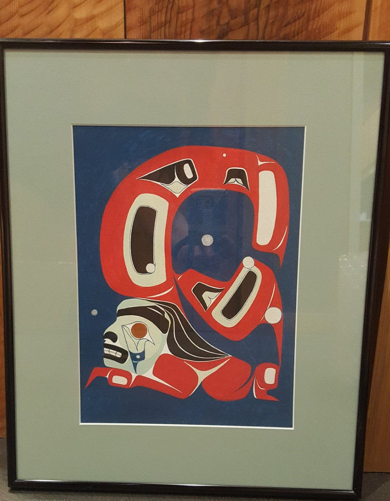 1997 Original Painting by Robert Davis Hoffman