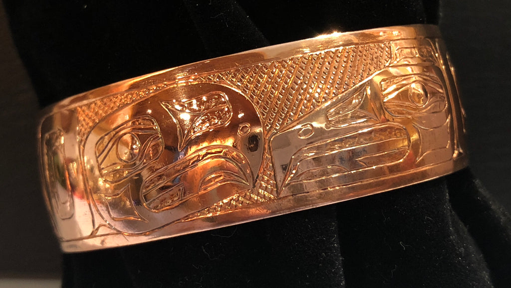 Bracelet-B. Chilton: Copper Lovebirds 3/4