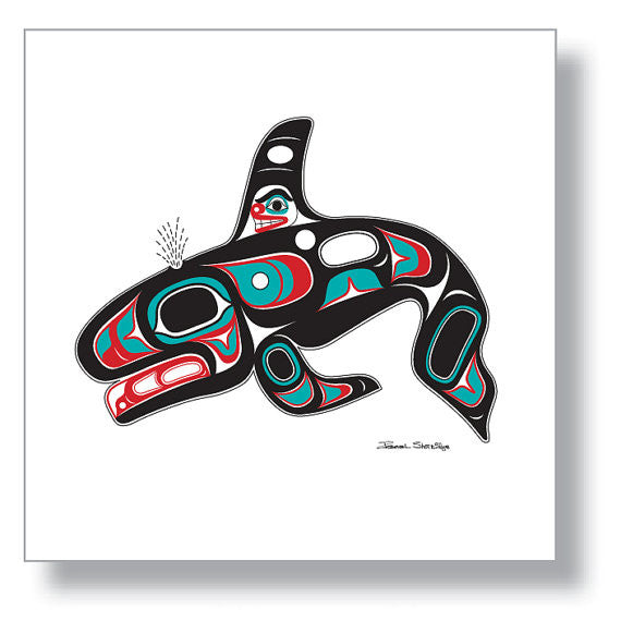 """Killer Whale"" Art Print by Israel Shotridge"