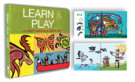 "Board Book - Native Northwest, ""Learn & Play"""