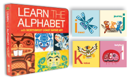 "Board Book - Native Northwest, ""Learn the Alphabet"""