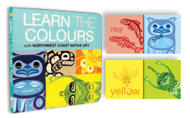 "Board Book - Native Northwest, ""Learn the Colours"""