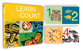 "Board Book - Native Northwest, ""Learn to Count"""