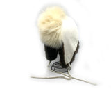 Fur Hat- (C) M. Gho: Polar Bear Fur, Suede, & Sea Otter Fur