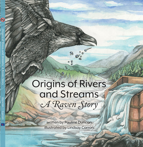 "Baby Raven Reads- ""Origins of Rivers and Streams"", P. Duncan"