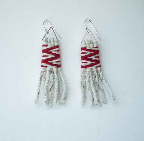 Earrings- Lily Hope: (C) Wool, Lightning, Petite