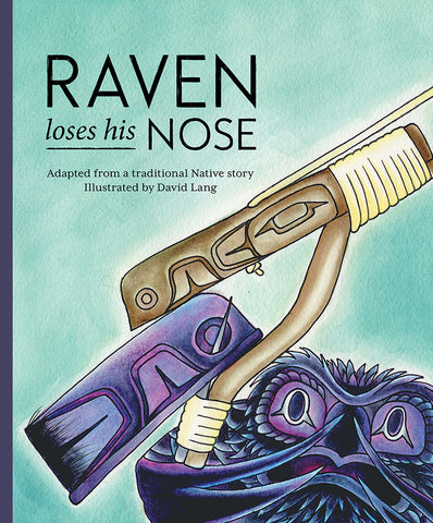 "Baby Raven Reads – ""Raven Loses His Nose"""