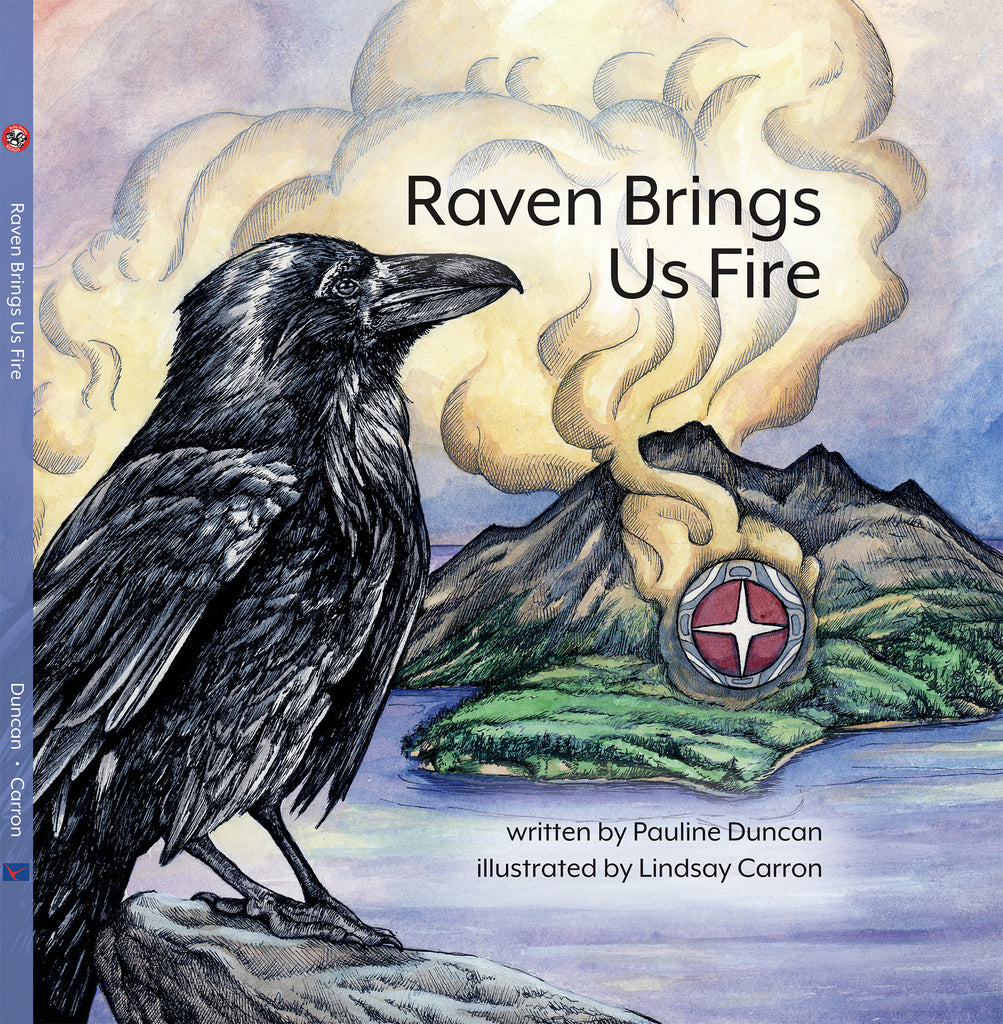 "Baby Raven Reads - ""Raven Brings Us Fire"""