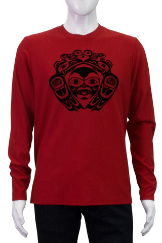 Apparel- C. Angus: Sweatshirt, Red