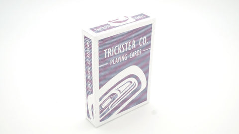 Playing Cards- Trickster Co., Plasticized Bee Paper,  Exclusive Edition