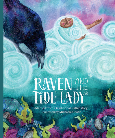 "Baby Raven Reads- ""Raven and the Tide Lady"""