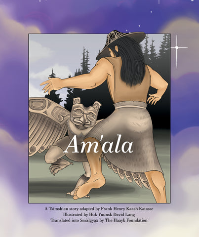 "Baby Raven Reads- ""Am'ala"" (Sm'algya̱x edition)"