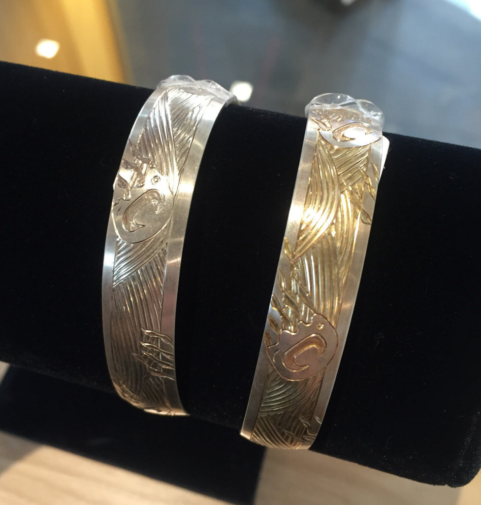 .5 x 6 Silver Bracelets By Jennifer Younger