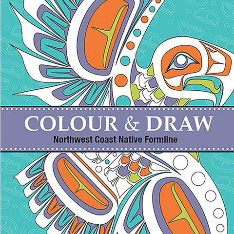 "Coloring Book - ""Color & Draw: Northwest Coast Native Formline"""