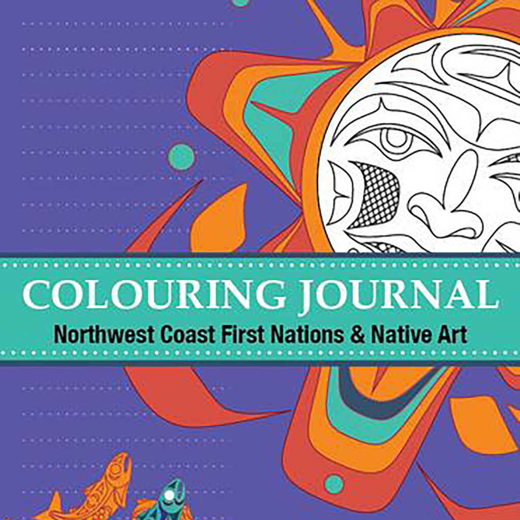 """Coloring Journal"" Northwest Coast Coloring Book"