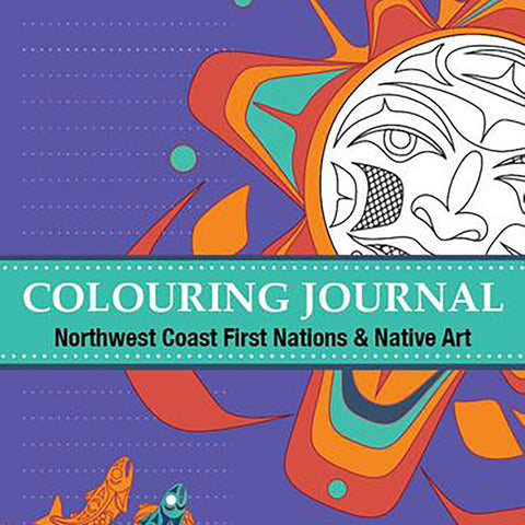 "Coloring Book - ""Colouring Journal, Northwest Coast First Nations & Native Art"""