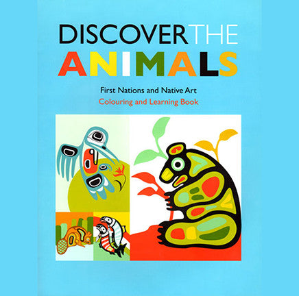 "Coloring Book - ""Discover the Animals"""