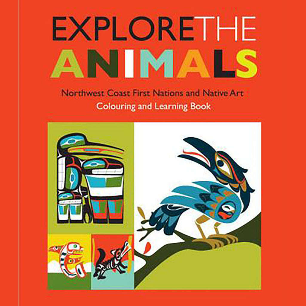 """Explore the Animals"" Northwest Coast Coloring Book"